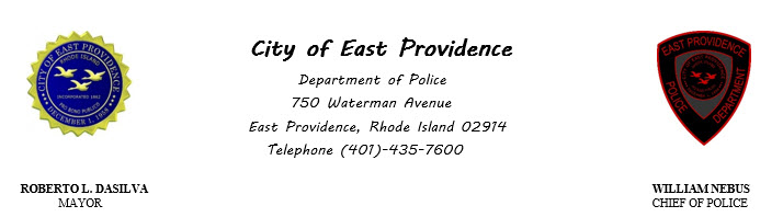 East Providence Police Department, RI Public Safety Jobs