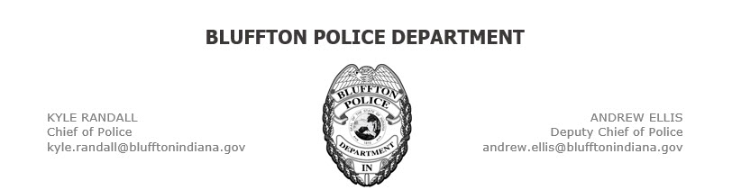 Bluffton Police Department, IN Public Safety Jobs