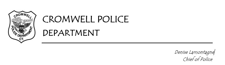 Cromwell Police Department, CT Public Safety Jobs