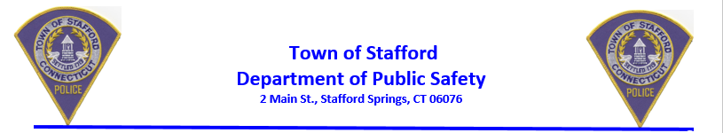 Stafford Police Department, CT Public Safety Jobs