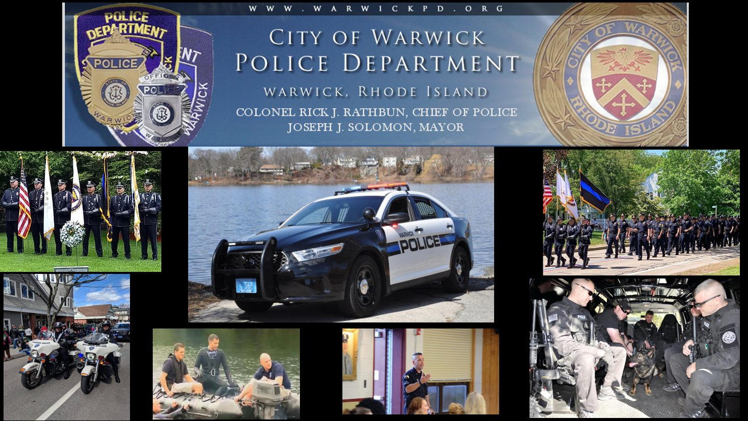 Warwick Police Department, RI Public Safety Jobs