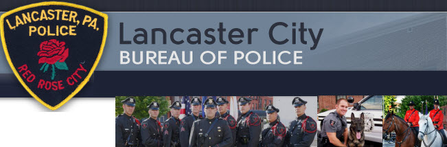 Lancaster City Police Department, PA Public Safety Jobs