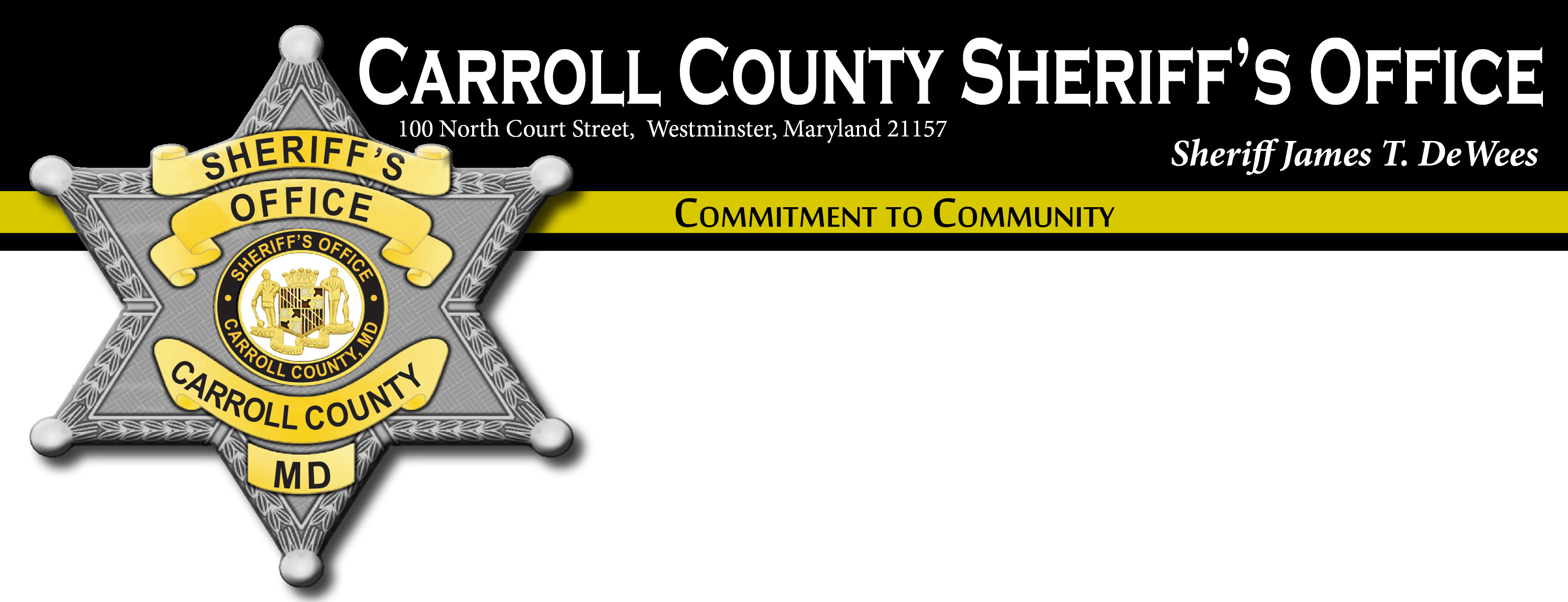Carroll County Sheriffs Office, MD Public Safety Jobs
