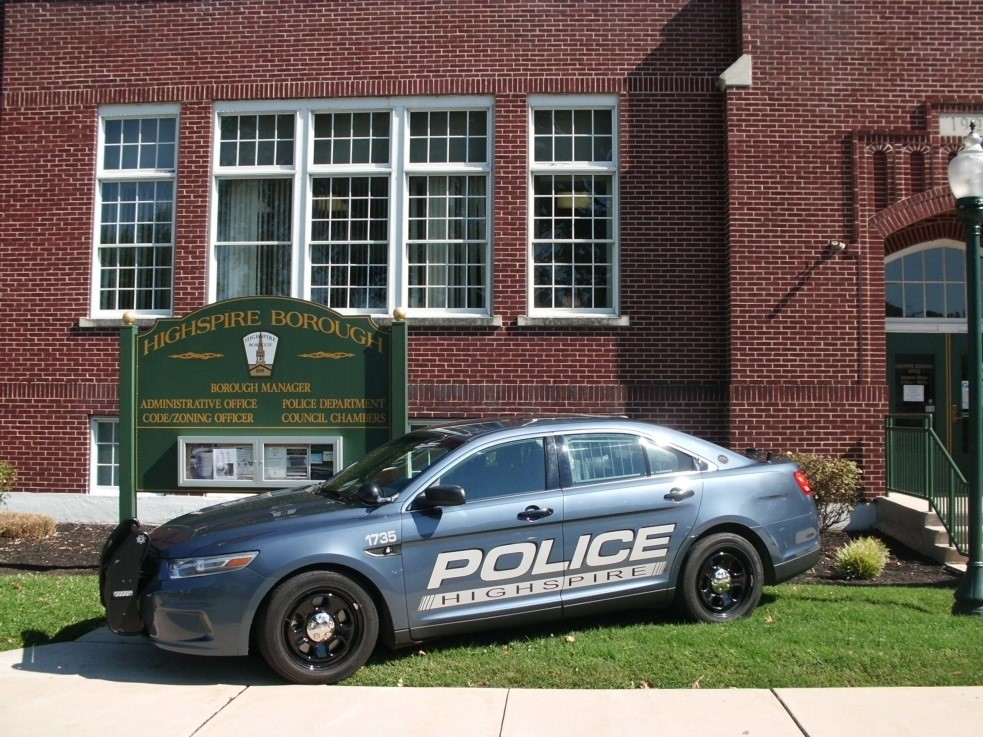 Highspire Borough Police Department, PA Public Safety Jobs