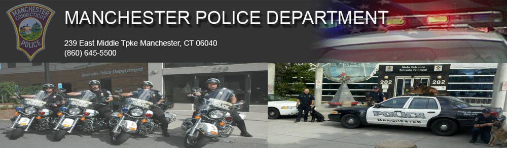 Manchester Police Department, CT Public Safety Jobs